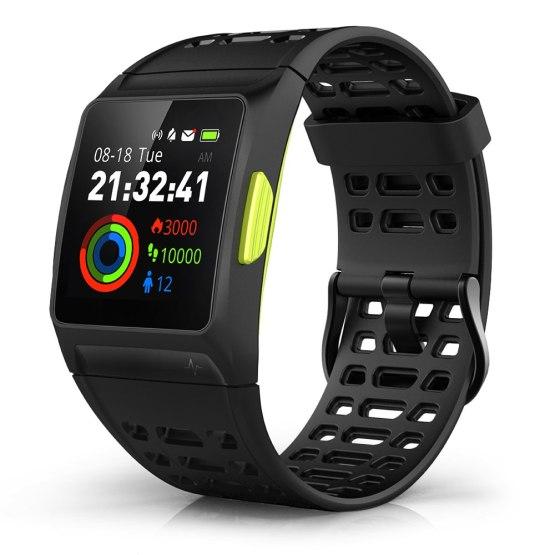 2018 GPS Smart Watch Men Heart Rate Monitor Outdoor Sport Fitness