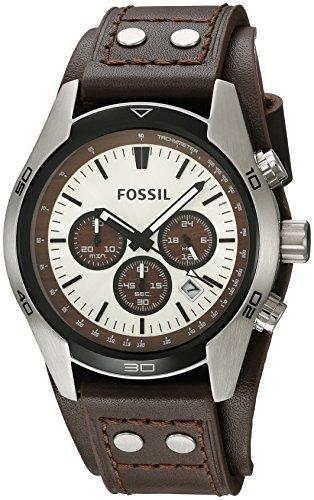 Fossil Men's Coachman Quartz Stainless Steel