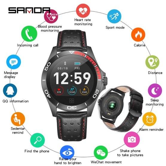 New Brand Bluetooth Smart Watch Men Women Sport Smartwatch