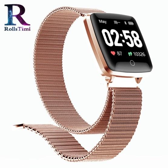RollsTimi New Luxury Smart Watch Men Heart Rate/Blood Pressure Monitor