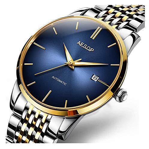 Fashion Men's Mechanical Watch Luxury Brands Watches Steel Band