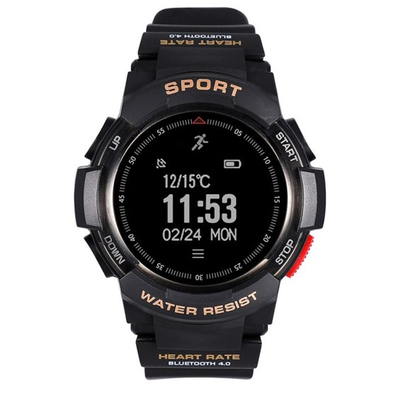 GPS Sports Smart Watch Men Heart Rate Monitor Fitness