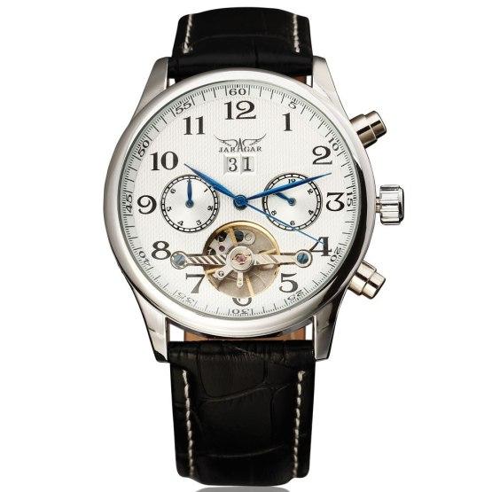 New Fashion Brand JARAGAR Automatic Mechanical Self-Wind Men Wrist Watch