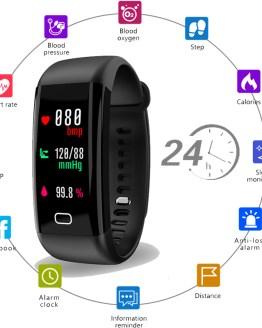 Smart Watch Men Women Heart Rate Monitor Blood Pressure