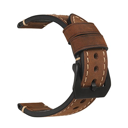 Leather Watch Bands,Horse Genuine Leather Handmade Watchbands