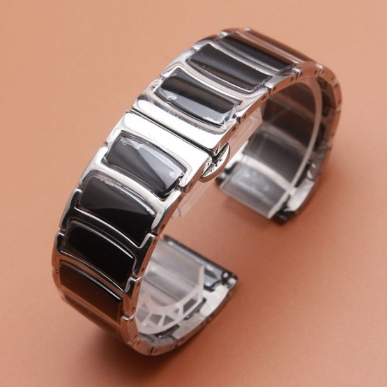 20mm 22mm Watchband Mens Women High Quality Stainless Steel