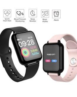 Smart Bracelet Watch Men Color Screen Digital Sport Watches