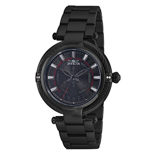 Invicta Women's Star Wars Quartz 3 Hand Black Dial Watch