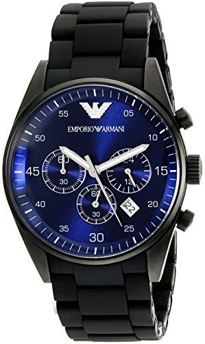 Emporio Armani Men's AR5921 Sport Black Silicone Watch