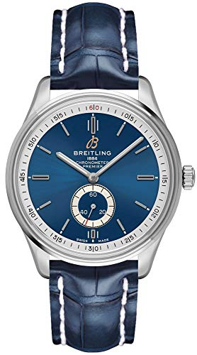 Breitling Premier Automatic 40 Blue Dial Men's Watch A37340351C1P2