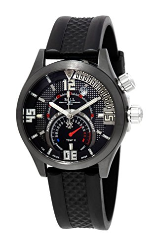 Limited Edition Ball Engineer Master II Diver TMT Titanium Mens Watch Thermometer Date DT1020A-PAJ-BKC