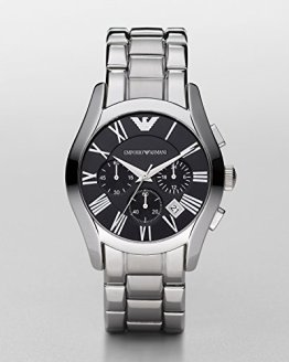 Emporio Armani Men's AR0673 Stainless Steel Chronograph Watch