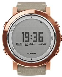 Suunto Men's Essential Copper Leather Swiss Quartz Watch