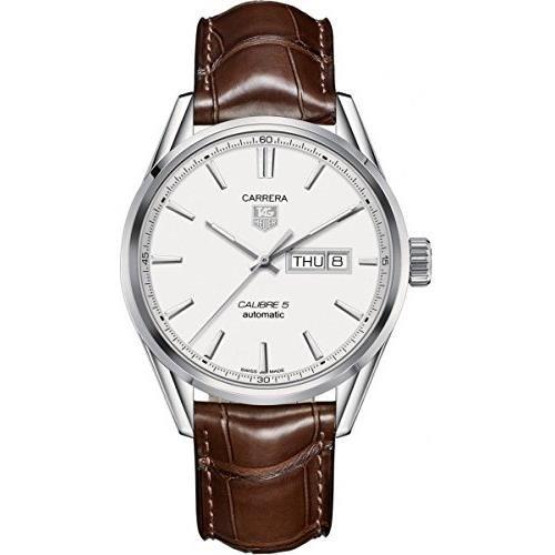 TAG Heuer Men's WAR201B.FC6291 Carrera Analog Display Swiss Automatic Brown Watch