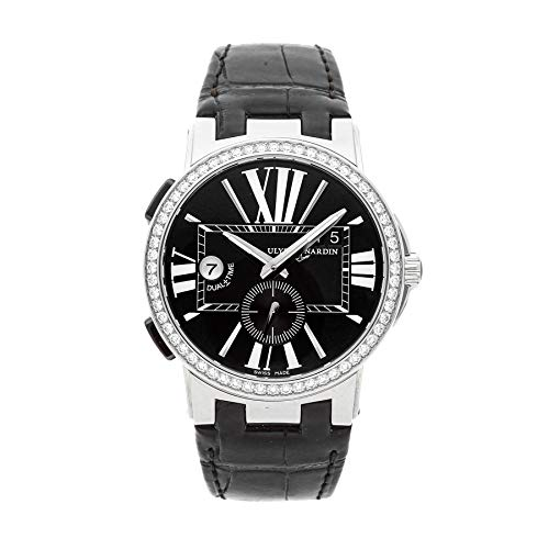 Ulysse Nardin Executive Dual Time Mechanical (Automatic) Black Dial Mens Watch