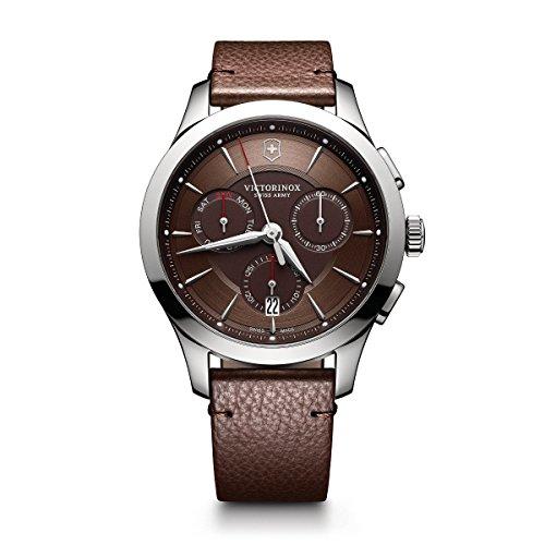 Victorinox Men's Alliance Stainless Steel Swiss-Quartz Watch