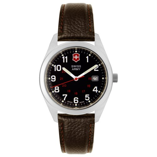 Victorinox Swiss Army Men's 241083 Garrison Collection Brown Leather Watch