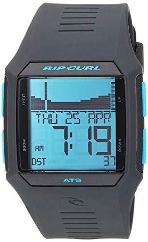 Rip Curl Men's Quartz Sport Watch with Polyurethane Strap, Blue, 30.2 (Model: A1119BLT1SZ)