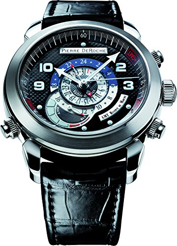 Pierre De Roche GrandCliff GMT Men's Watch GRC10002ACI0-001CRO