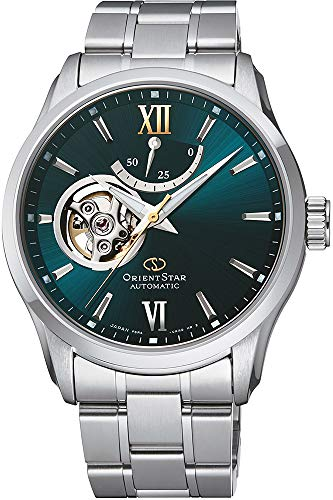 Orient Mens Analogue Automatic Watch with Stainless Steel Strap RE-AT0002E00B
