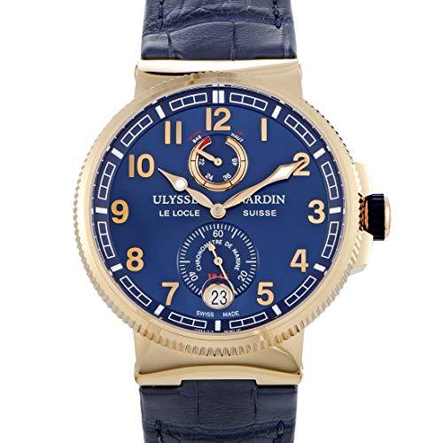 Ulysse Nardin Marine Chronometer Manufacture 18k Rose Gold Watch
