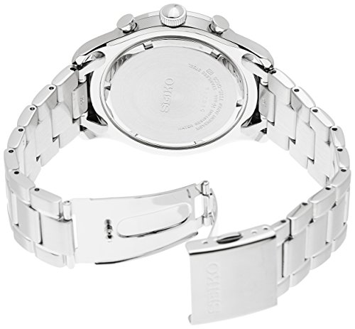 Seiko regular 44mm Silver Steel Bracelet & Case Hardlex (used for Seiko only) Men's Watch Seiko regular SPC123 44mm Silver Steel Bracelet & Case Hardlex (used for Seiko only) Men's Watch