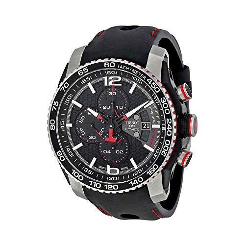 Tissot Men's PRS Analog Display Swiss Automatic Black Watch