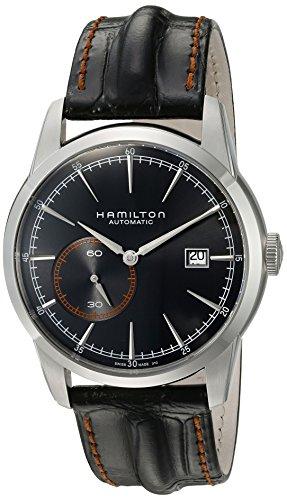 Hamilton Men's H40515731 Timeless Classic Analog Display Swiss Automatic Black Watch