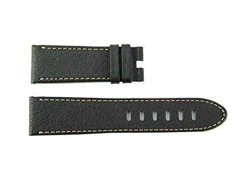 "MONTBLANC TIMEWALKER XL Brown Calf Leather Strap 5.5""/3.25""/22mm Swiss 106735#27"