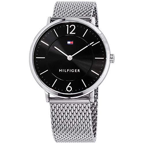 Tommy Hilfiger Ultra Slim Quartz Movement Black Dial Men's Watch 1710355