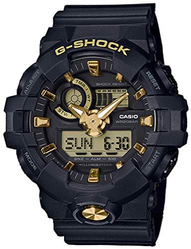 G-Shock Men's GA710B-1A9 Black/Gold One Size