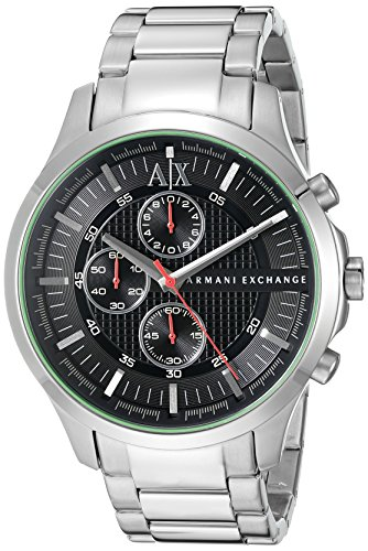 Armani Exchange Men's Silver Watch