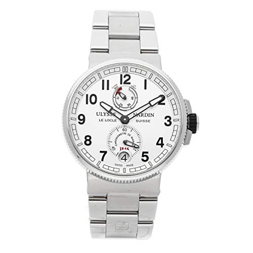 Ulysse Nardin Marine Mechanical (Automatic) Silver Dial Mens Watch