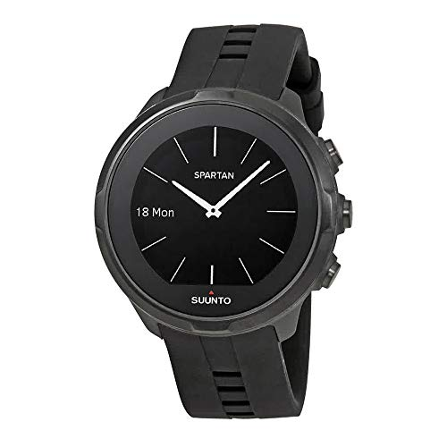 Suunto Spartan Unisex Black Silicone Sport Watch