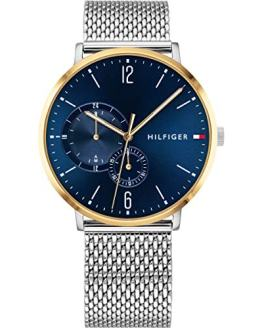 Tommy HilfigerMens Analog Blue Sport Quartz Tommy Hilfiger Multifunction 1791505