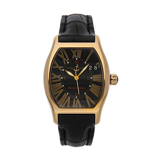 Ulysse Nardin Michelangelo Mechanical (Automatic) Black Dial Mens Watch 236-68/42 (Certified Pre-Owned)