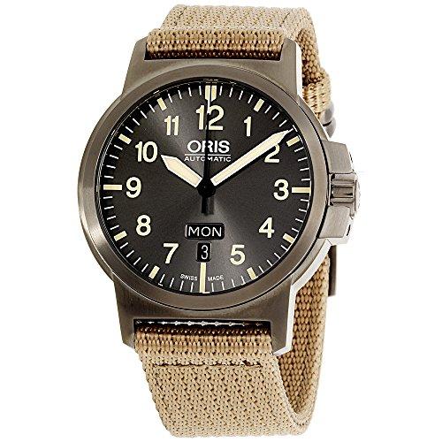 Oris BC3 Automatic Movement Grey Dial Men's Watch 73576414263TSBGE