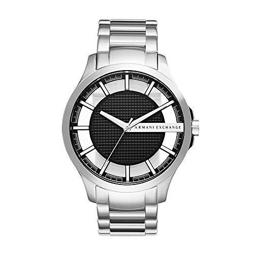 Armani Exchange Men's Silver Quartz Watch