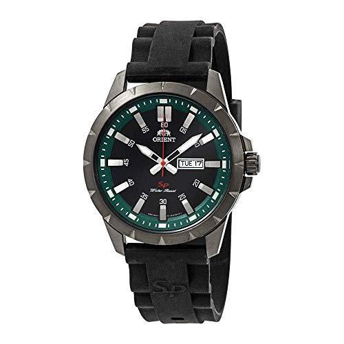 Orient Sporty Black Dial Mens Watch FUG1X00AB