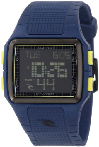 Rip Curl Men's A2397-NAV Digital Surf ABS Case and Strap Watch