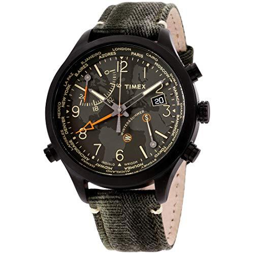 Timex Waterbury Quartz Movement Green Dial Men's Watch