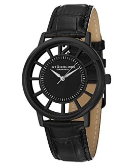 Stuhrling Original Men's Winchester Swiss Quartz Transparent Watch