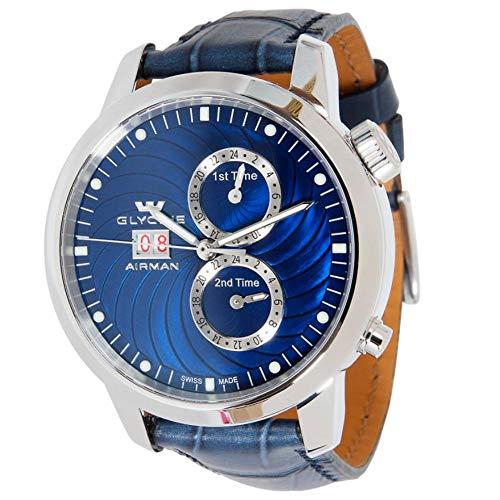 Glycine Airman Automatic-self-Wind Male Watch 3919.18.LBK8 (Certified Pre-Owned)