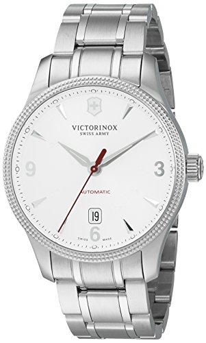 Victorinox Men's 'Alliance' Swiss Stainless Steel Automatic Watch (Model: 241715)