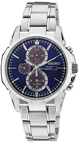 Seiko Gents Solar Powered Chronograph Watch SSC085P1