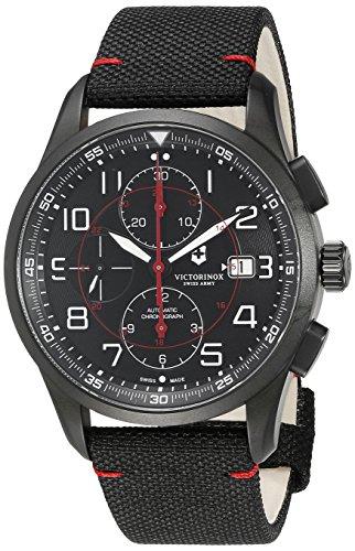 Victorinox Men's 241721 AirBoss Analog Display Swiss Automatic Black Watch