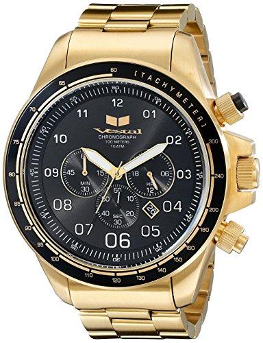Vestal Men's ZR3033 ZR3 Analog Display Quartz Gold Watch