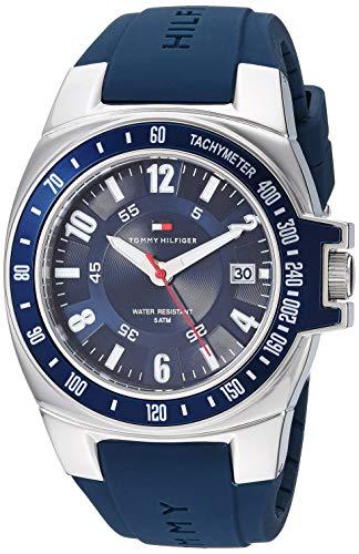Tommy Hilfiger Men's Blue Rubber Watch