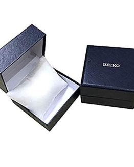 Seiko Mens Analogue Solar Powered Watch with Leather Strap SNE475P1