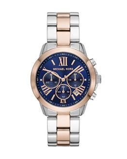 Michael Kors Women's Bradshaw Two Tone Stainless Steel Watch MK6389